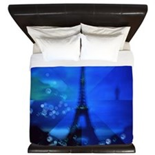 Dreams of Paris King Duvet