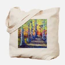 Trees Butterflies Tote Bag