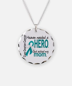 Ovarian Cancer Heaven Needed Necklace