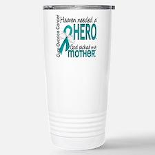 Ovarian Cancer Heaven N Travel Mug