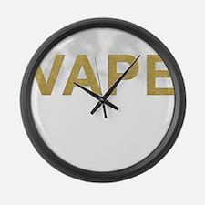 Vaper Large Wall Clock