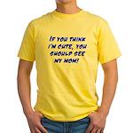 Cute Yellow T-Shirt