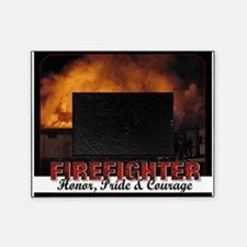 Firefighter Honor Pride Courage Picture Frame