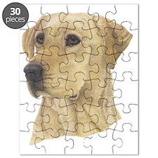 Yellow Lab Puzzle