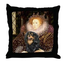 Queen & Cavalier (BT) Throw Pillow