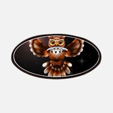 Owl Surreal 3d Art Patches
