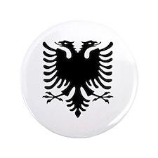 "Albanian Eagle 3.5"" Button"
