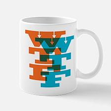 WTF Typography Mug