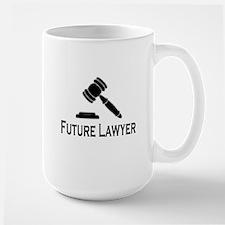 """""""Future Lawyer"""" Mugs"""