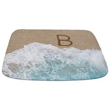 LETTERS IN SAND B Bathmat