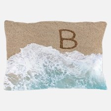 LETTERS IN SAND B Pillow Case