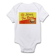 Jews For Bacon Infant Bodysuit