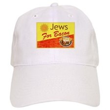 Jews For Bacon Baseball Cap