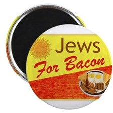 Jews For Bacon Magnet