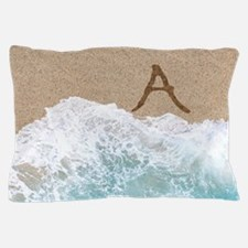 LETTERS IN SAND A Pillow Case