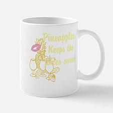 Pineapples, keep the juices sweet Mug