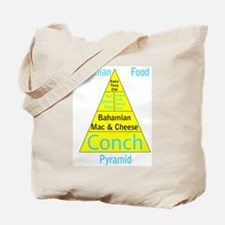 Bahamian Food Pyramid Tote Bag