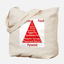 Canadian Food Pyramid Tote Bag