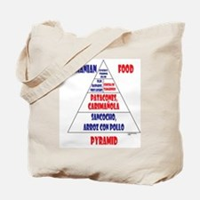 Panamanian Food Pyramid Tote Bag