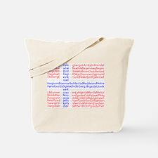 Norwegian Cities Flag Tote Bag