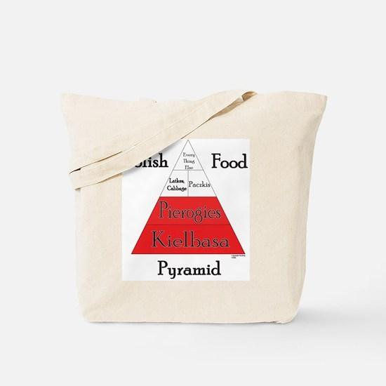 Polish Food Pyramid Tote Bag