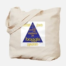 Scottish Food Pyramid Tote Bag