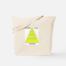 Swedish Food Pyramid Tote Bag