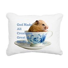 All Creatures Rectangular Canvas Pillow