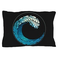 Ocean Wave Pillow Case