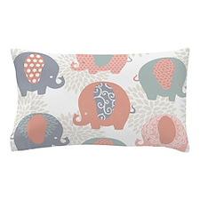 Cute Elephants Pillow Case