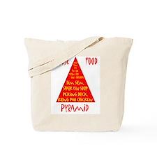 Chinese Food Pyramid Tote Bag