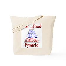 Thai Food Pyramid Tote Bag