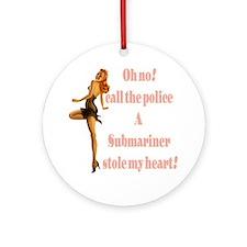 oh no submariner Ornament (Round)