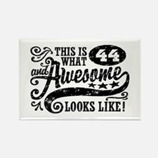 44th Birthday Rectangle Magnet