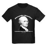Alexander hamilton Kids T-shirts (Dark)