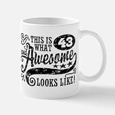 43rd Birthday Mug