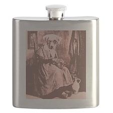 Granny Dog Flask