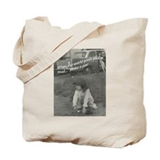 Mud Pie Tote Bag