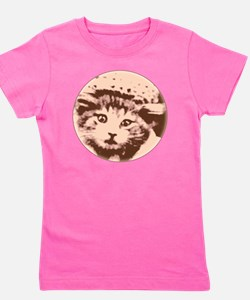 Kitty Gal Girl's Tee