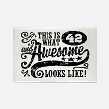 42nd Birthday Rectangle Magnet
