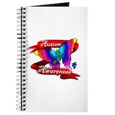 Autism Awareness Butterfly Design Journal