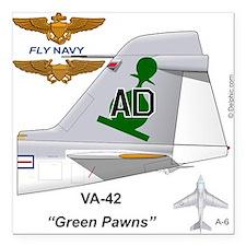 "A-6 Intruder Va-42 Thundesquare Car Magnet 3"""