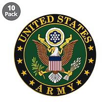 "U.S. Army Symbol 3.5"" Button (10 pack)"
