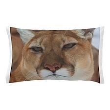 Big Faced Cougar Pillow Case