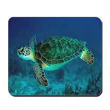 Ocean Turtle Mousepad