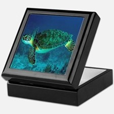 Ocean Turtle Keepsake Box
