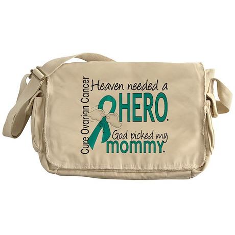 Ovarian Cancer Heaven Needed Hero 1. Messenger Bag