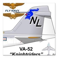 "A-6 Intruder Va-52 Knightsquare Car Magnet 3"""