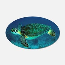 Ocean Turtle Wall Decal