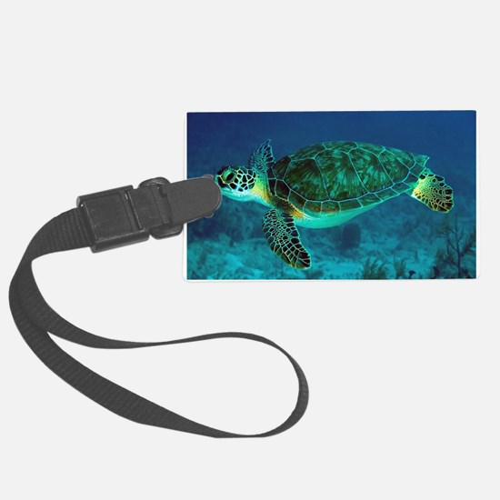 Ocean Turtle Luggage Tag